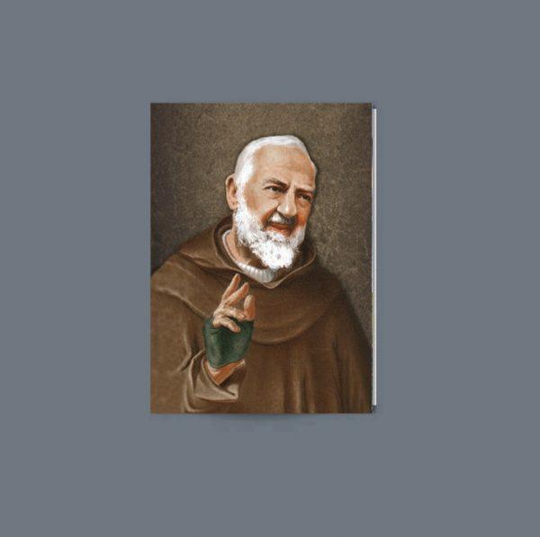 MR16 Memorial Card featuring Padre Pio