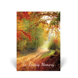 Nature's Beauty Memorial Cards