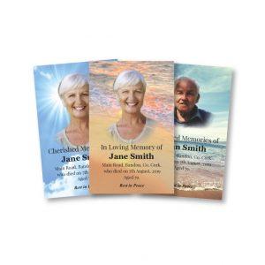 Wallet Memorial Cards