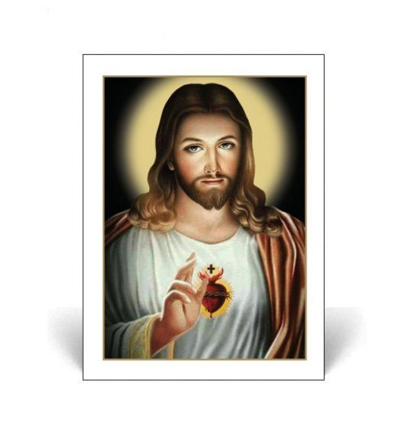 Sacred Heart Memorial Card