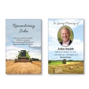 WMC39 - Farming themed wallet card